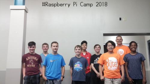 Raspberry PI Camp PM 2018